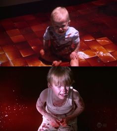 A history written in blood repeating. Harrison left for 12 hrs at his mothers (Rita) crime scene. Dexter left for 2 days in a shipping container, his mothers (Laura) crime scene. Best Tv Shows, Favorite Tv Shows, Dexter Season 4, Ncis Tv Series, Rock Games, Michael C Hall, Creepy Kids, Dimebag Darrell, Tv Show Music