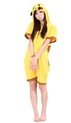 d628676a2c Black Friday UUstar® New Summer Wear Short Sleeves Unisex Japanese Animal  cosplay costumes anime hoodie onesie for Children Kids Men Women - Pokemon  ...
