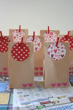 Valentine's Day scavenger hunt. A gift and a hint at every spot with a treasure at the end!