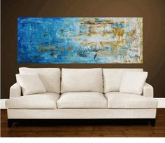 "72""xxl large abstract painting original palette knife painting free shipping, from jolina anthony signet  express shipping"