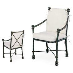 Dining Arm Chair GR 2030L | Pavilion-Furniture.com