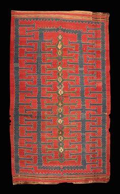 1000 images about textile kilim on pinterest kilims for Retro tapete turkis
