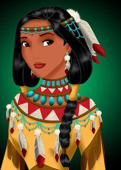 Royal Jewels: POCAHONTAS by MissMikopete