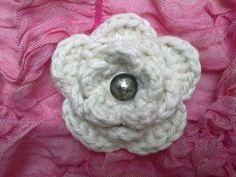 Crocheted rose