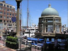 Blues  Concert at the Boston Harbor Hotel on our walk:)
