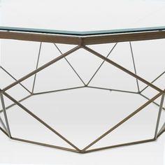Geometric Coffee Table   west elm
