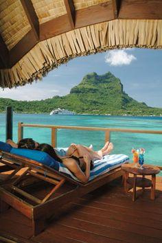 Overwater Bungalow Otemanu, Tahiti