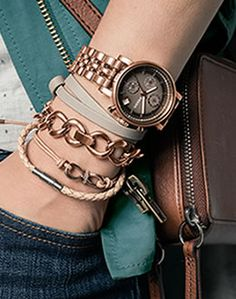 Women's Spring 2014 Look Book - Clothing & Accessories | FOSSIL #women #watches
