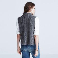 Madewell Landward Sleeveless Sweater