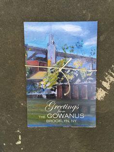 Postcard set of paintings by Joe Mariano