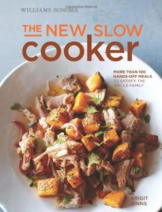 Great find by Lisa of @whiskandcleaver - My New BFF in the Kitchen: The New Slow Cooker Cookbook.  Her whole family love some of these recipes which require a bit of extra work in the morning, but leave her sailing through the door at the end of the day like a domestic goddess with fresh, hot, delicious food ready for the whole family.