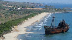 The Dimitrios, at Laconia (near Gythio, Greece).