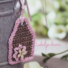 Crochet Label Inspiration ❥ 4U // hf