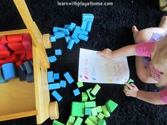 Sorting and Counting Blocks