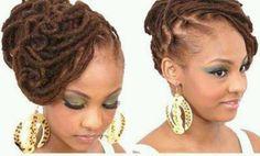 Bridal Hair, Locs, <3