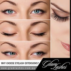 WHY CHOOSE EYELASH EXTENSIONS? The eyes are 'the window to your soul' and why not give them the attention they deserve? Women feel more beautiful, more confident and sexier when wearing eyelash extensions.  The greatest benefit my clients describe is that they no longer need to rigorously apply make-up every day as their extensions also add thickness and volume to their natural lashes.  #eyelash #eyebrow