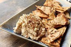 Toasted Sesame and White Bean Hummus