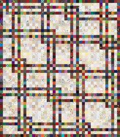 Scraps Galore Quilt Pattern. Love this pattern from Victoriana Quilts. http://www.victorianaquiltdesigns.com/VictorianaQuilters/PatternPage/ScrapsGalore/ScrapsGaloreQuiltPattern.htm