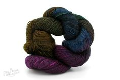 Nerds Prefer Their Rainbows Darker - The Sparkly Bluefaced Baron Sock - Bluefaced Leicester & Firestar Nylon