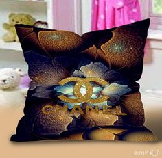 Chanel Gold art Pillow Cases