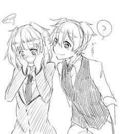Nagisa and Kayano || Assassination Classroom