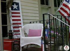 15 Patriotic Porches - Creations by Kara