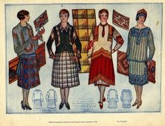 Art of Dressing, Leningrad, 1928