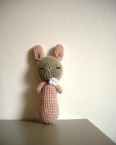 Soft pink bunny - a big one!