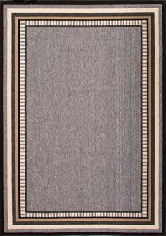 Home Decorators Collection Hand Made Black Ink Geometric Area Rug. Available at The Home Depot.