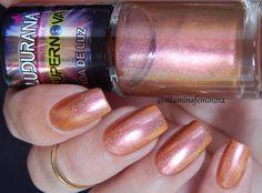 Esmalte Onda de Luz-Ludurana  #esmalteholografico #esmaltes #unhas #nails