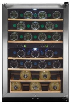 Vinotemp 160-Bottle Wine Cellar - contemporary - refrigerators and freezers - Best Buy