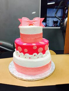 The cutest cake for a 12 year old girl ever!!