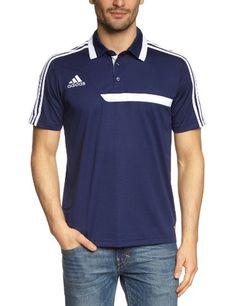 adidas Herren Bekleidung Polo-Shirt Hemd Tiro 13 Climalite, Newnav White, M, Z19968