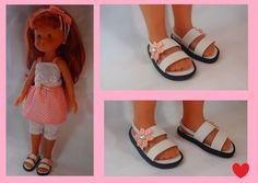 Chaussures pour poupée Corolle Les Chéries Fait Main !! in Jeux, jouets, figurines, Poupées, Vêtements, accessoires | eBay