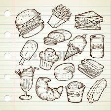 comida chatarra dibujos - Buscar con Google