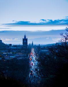 Icy Christmas Edinburgh