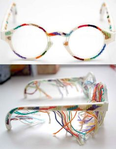 c77cc429ef Craft meets Tech with these 3D printed tapestry glasses 3d Printed Jewelry