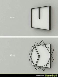 product, squar, awesom invent, stuff, inspir, wall clocks, design, thing