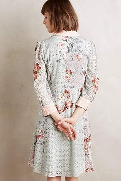 Bloomed Eyelet Shirtdress - anthropologie.com