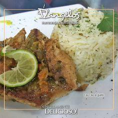 Para el almuerzo un delicioso Lau Lau al gusto.  #gastronomia  #gourmet  #pescado #arroz #fish #rice #Guayana  #puertoordaz