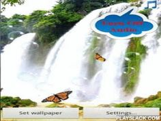 Waterfall Free Live Wallpaper  Android App - playslack.com ,  You will have a cool backgrounds of nature waterfalls.Waterfall Free Live Wallpaper is the best live wallpaper about waterfall which you feel relaxed and comfortable with the sound of miracle waterfall or birdsong in the forest .Features turn on or turn off all sound of waterfall, bird sound and bubble sound, just click on the top right corner of the screen. This is a new feature not present in any app live wallpaper.Upgrade to…