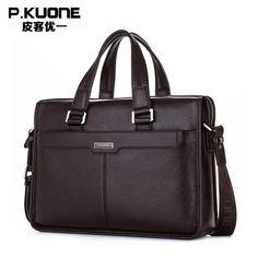 0465e3dbead6 2014 New Men s Handbag Genuine Leather Luxury Brand Men Business Briefcase Handbags  Messenger Bags 14