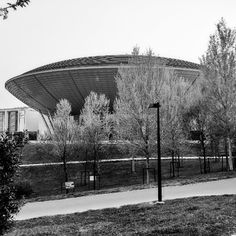 #Palacongressi di #Rimini #modernist #UFO -like #architecture #Italian #design and #technology - #archilovers #convention #futuristic #building #hospitality #EmiliaRomagna #Italia #Italy #madeinitaly by purassan