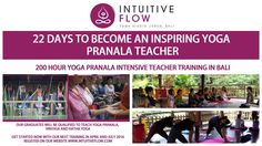 Register to the 200 Hour Intensive Teacher Training until the 7th of February to benefit from the Early Bird Price!  The places are limited, Book yours Today and you will be Guided through this process by the best Yoga Teachers in Bali. http://www.intuitiveflow.com/training/200-hours-yoga-teacher-training/