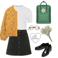Untitled #59 by kittymaid on Polyvore featuring Topshop and Fjällräven