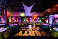 Bar Mitzvah at ARIA Mpls. Talk about Colorful! What a great event. Photography by Matt Blum