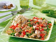 Hähnchen-Gemüse-Frikassee