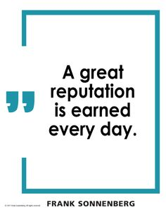 Reputation Quotes Interesting 1000 Reputation Quotes On Pinterest  Abraham Lincoln Quotes .
