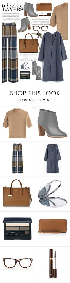 """""""Sweater Weather"""" by glamorous09 ❤ liked on Polyvore featuring Theory, Ted Baker, Warehouse, DKNY, Miss Selfridge, Clé de Peau Beauté, MICHAEL Michael Kors, Chico's, Avon and Tom Ford"""