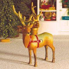 Dancer the Reindeer (PR) - Christmas Decorations - Christmas Decorations - Christmas at the Dolls' House - Dolls House Emporium